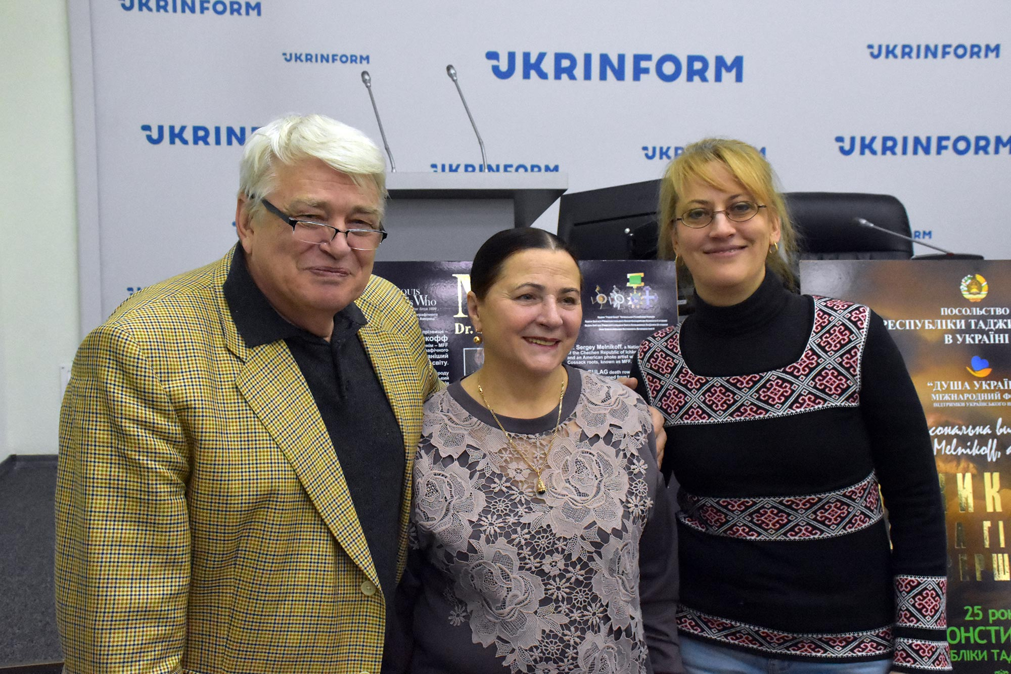 Sergey Melnikoff, Nina Matvienko, and Tatiana Alexandrova. Genius: a supercomputer has created a unique portrait of Borys Paton